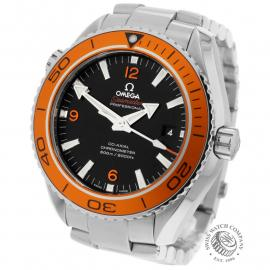 OM21969S Omega Seamaster Planet Ocean 600M Co-Axial Back
