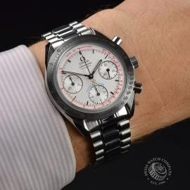 OM21300S Omega Speedmaster Reduced Limited Edition Torino Olympics Wrist