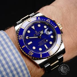 RO22037S Rolex Submariner Date Wrist