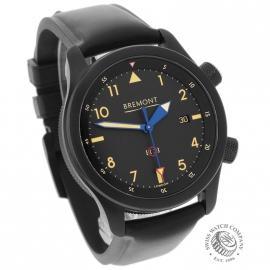BM21731S Bremont U-2 Black Jet Pilot Watch Dial