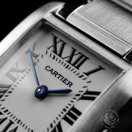 CA22133S Cartier Ladies Tank Francaise Small Model Close3