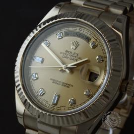 RO22541S Rolex Day-Date II 18ct Close1
