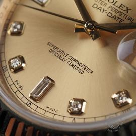 RO22541S Rolex Day-Date II 18ct Close4 1