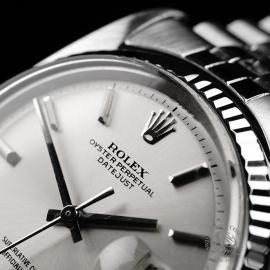 RO22030S Rolex Vintage Datejust 36 Close3