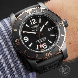 BR22775S Breitling Superocean 46 Blacksteel Wrist