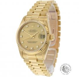 Rolex Datejust 18ct Midsize
