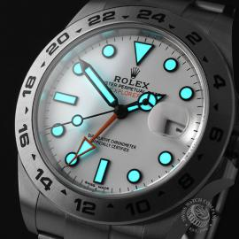 RO22297S Rolex Explorer II Orange Hand Unworn Close1