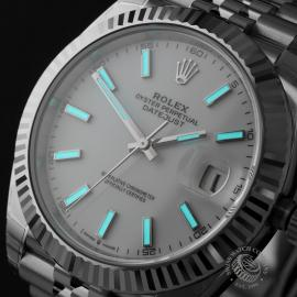 RO22350S Rolex Datejust 41 Unworn Close1