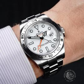 RO21745S Rolex Explorer II Orange Hand Wrist