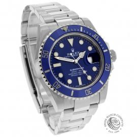 RO21985S Rolex Submariner Date 18ct White Gold Dial