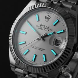 RO22357S Rolex Datejust 41 Unworn Close1