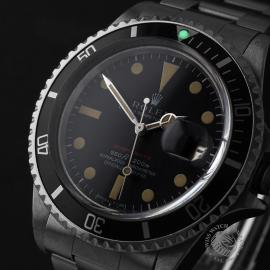 RO823F Rolex Vintage Submariner Date 'Single Red' Close1