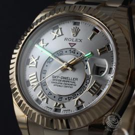RO22332S Rolex Sky-Dweller 18ct Unworn Close1