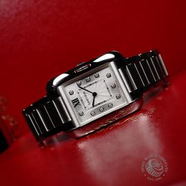 CA21925S Cartier Ladies Tank Anglaise  Close11