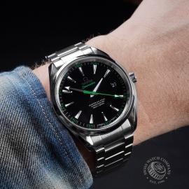 OM21643S Omega Seamaster Aqua Terra Wrist