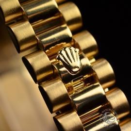 RO21016S Rolex Ladies Datejust 18ct Close4