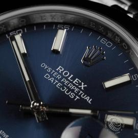 RO22342S Rolex Datejust 41 Unworn Close3 1