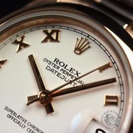 RO1852P Rolex Ladies Datejust 18ct Close5 2