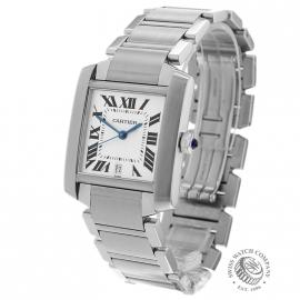 CA20453S Cartier Tank Francaise Large Size Back 1