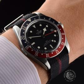 RO20436S Tudor Black Bay GMT Pepsi Bezel Wrist 1