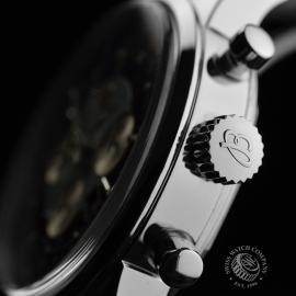 BR19708S Breitling Transocean Chronograph Unitime Close3