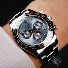 RO21869S Rolex Cosmograph Daytona Platinum Wrist