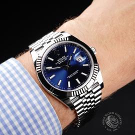 RO21968S Rolex Datejust 41 Unworn Wrist