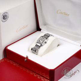CA22133S Cartier Ladies Tank Francaise Small Model Box
