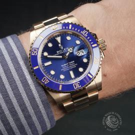 RO22674S Rolex Submariner Date Wrist