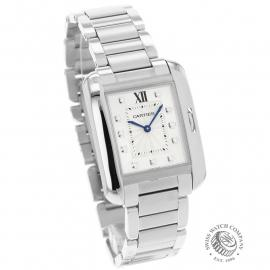 CA21925S Cartier Ladies Tank Anglaise  Dial