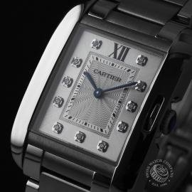 CA21925S Cartier Ladies Tank Anglaise  Close1