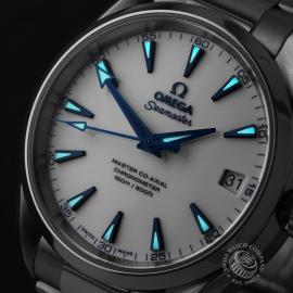 OM22613S Omega Seamaster Aqua Terra Titanium Close2