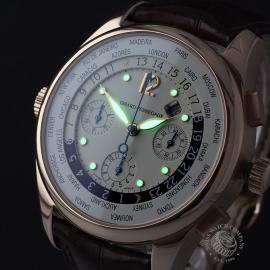 GP22191S Girard Perregaux World Time Chronograph 18ct Close1