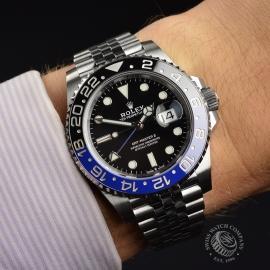 RO21126S Rolex GMT Master II - 2019 Model Wrist 1