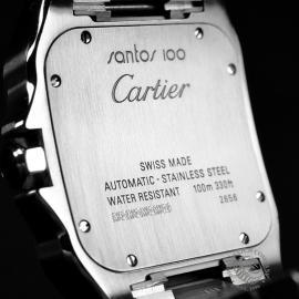 20956S Cartier Santos 100 Close8