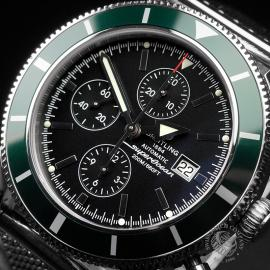 BR22461S Breitling Superocean Heritage 46 Chronograph Close2