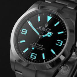 RO22447S Rolex Explorer 39 Unworn Close1