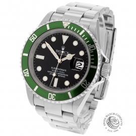 RO1958P Rolex Submariner Green Bezel Back