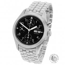 IW22392S IWC Pilots Flieger Chronograph Back