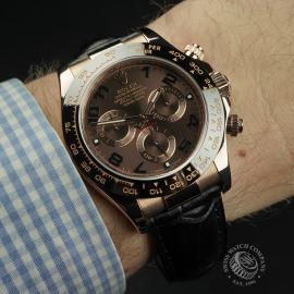 RO22335S Rolex Daytona Everose Ceramic Wrist 1