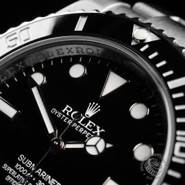 RO21836S Rolex Submariner Non Date Ceramic Close3 1