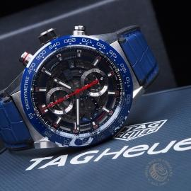 TA21664S Tag Heuer Carrera Calibre 01 Chronograph Close10
