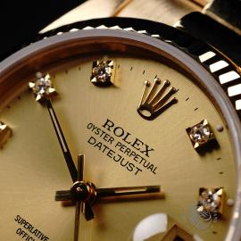 RO21949S Rolex Datejust 18ct Mid-Size Close3
