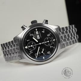 IW22392S IWC Pilots Flieger Chronograph Close10