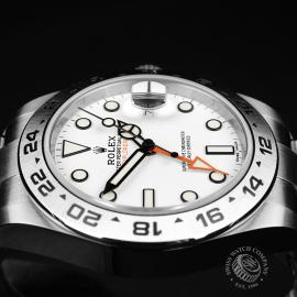 RO22297S Rolex Explorer II Orange Hand Unworn Close7
