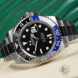 RO22681S Rolex GMT Master II 'Batman' Close10