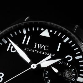 IW21574S IWC Big Pilot Close 3