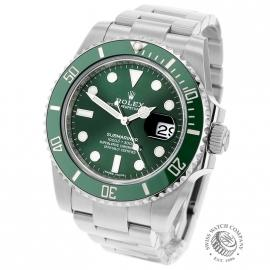 RO21645S Rolex Submariner Date Ceramic 'Hulk' 116610LV Back