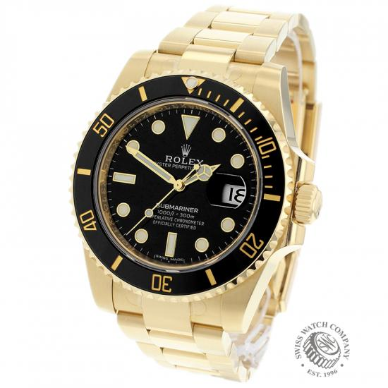 Rolex Submariner Date 18ct Yellow Gold Unworn