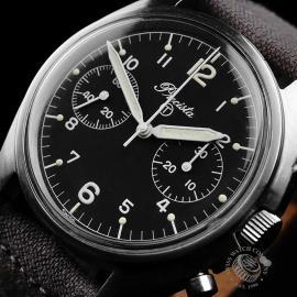 PR766F Precista Vintage R.A.F. Pilots Chronograph Close2